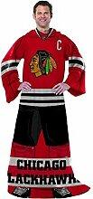 Northwest Chicago Blackhawks Uniform bequem Wrap Überwurf Decke