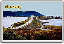 Norway Photo Fridge Magnet.