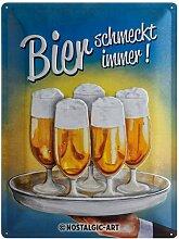 Nostalgic-Art 23139 Open Bar - Bier schmeckt immer