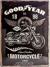 Nostalgic-Art 23242 Goodyear - Motorcycle,