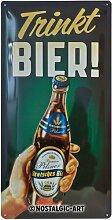 Nostalgic-Art 27008 Open Bar - Trinkt Bier!,