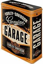 Nostalgic-Art 30321 , Harley-Davidson Garage Vorratsdose XL