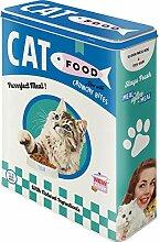 Nostalgic-Art 30329 - Cat Food, Vorratsdose L,