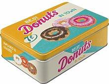 Nostalgic-Art 30730 USA Donuts, Vorratsdose Flach