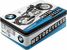 Nostalgic-Art 30731 , BMW - Timeline Vorratsdose Flach