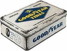 Nostalgic-Art 30745 Goodyear - Logo White   