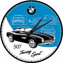 Nostalgic-Art 51081 BMW - Classic 507, Wanduhr 31cm