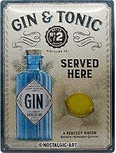 Nostalgic-Art Open Bar – Gin & Tonic Served Here
