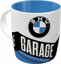 Nostalgic-Art Retro Kaffee-Becher - BMW - Garage,