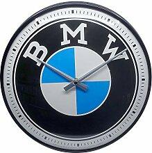 Nostalgic-Art Retro Wanduhr BMW – Logo –