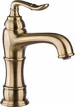 Nostalgie Waschtischarmatur Wasserhahn Bronze