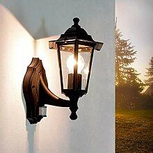 Nostalgische Außenleuchte Wandlampe Paris mit