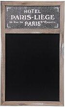 Nostalgische Holz-Kreide-Tafel PARIS - Schultafel