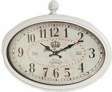 Nostalgische Wanduhr Clock Factory oval 33*50cm