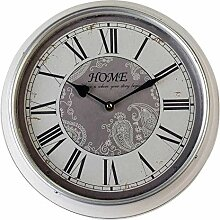 Nostalgische Wanduhr | Wand Uhr im Retrostil 31 cm
