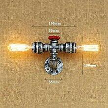 Nostalgische Wasserpfeifen-Wandlampe aus