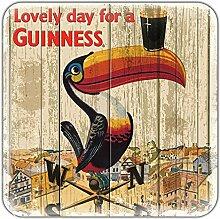 Nostalgischer Guinness-Magnet aus Epoxidharz mit