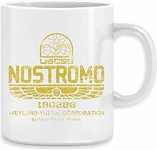 Nostromo - Alien Kaffeebecher Becher Tassen