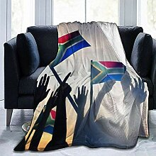 Not Applicable Adults Throw Blankets,South African