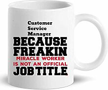 Not Applicable Customer Service Manager Mug