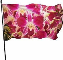 not applicable Orchideen-Blumen-Fliegen-Brise 3x5