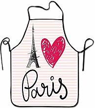 Not Applicable Paris City Decor Schürze Bar