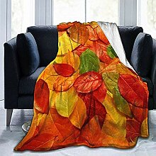 Not Applicable Unisex Flannel Blankets,Herbst