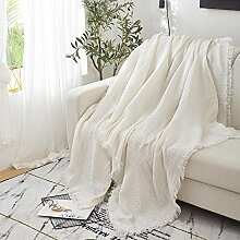 not Decke Sofa Decken Couch-Überwurf Plaid Sofa