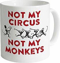 Not My Circus Becher, Weiß