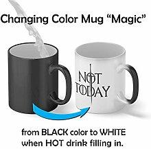 Not Today Arya Stark Magic Becher Mug  Lustige