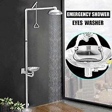 Notduschen Wasserhahn mit Augen Waschmaschine