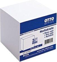 Notizklotz weiß, OTTO Office, 9x9x9 cm