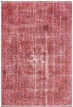 Nouristan Design Teppich mit Fransen Elita Pink,
