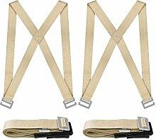 NOUVCOO 2 Personen Tragegurt, Transportgurt, Hebegurt für Leicht zu transportieren Möbelgeräte oder schweres Sperrgut über 200kg NV01