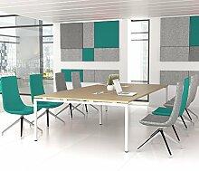 NOVA Konferenztisch 320x164cm Eiche mit