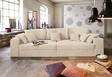 Nova Via Big-Sofa, wahlweise mit Kaltschaum (140kg