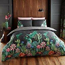 Novali Bedruckte Bettbezüge mit Kissenbezug,