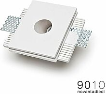 Novantadieci 9010 Einbaustrahler Gesso LED 1W