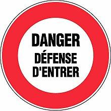 novap–Panneau–Gefahr Defense D
