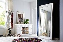 NovaSolo Bett Schritt, Holz, Weiß, 40 x 38 x 40 cm
