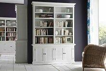 Novasolo Bücherschrank Halifax mit 4 Türen