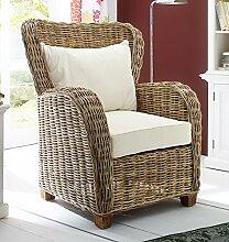 NovaSolo Queen Stuhl mit Sitz- und Rückenkissen