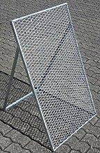 Novatool Durchwurfsieb 100 x 60 cm Sieb Metall