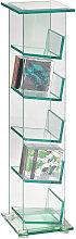 Novel CD-STÄNDER Klar , Glas, 22x88x24 cm