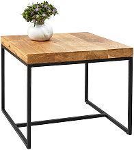 Novel COUCHTISCH , Holz, Metall, 50x40x50 cm