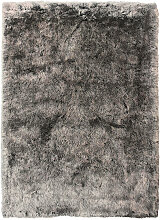 Novel FELLTEPPICH 80/150 cm Grau, Silberfarben ,