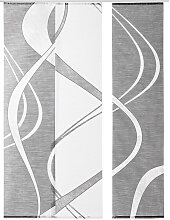 Novel FLÄCHENVORHANG 60/245 cm , 60x245 cm