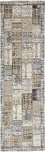 Novel LÄUFER 68/220 cm Grau, Beige , Patchwork,