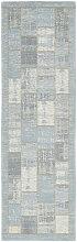 Novel LÄUFER 68/220 cm Hellblau , Patchwork,