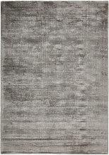 Novel TEPPICH 160/230 cm Silberfarben , Uni,